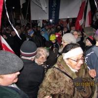 Myszkowianie na III Marszu Wolności