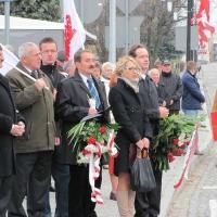 Narodowe Święto Niepodległości w Myszkowie (2013-11-11)